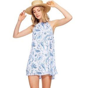 Show Me Your Mumu Gomez Paisley Mini Dress